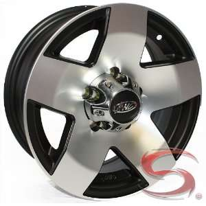 15x6 Phat Star Aluminum Trailer Wheel, 6 on 5.50 with