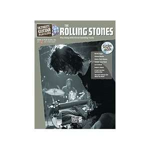 Ultimate Guitar Play Along Rolling Stones   Book and CD