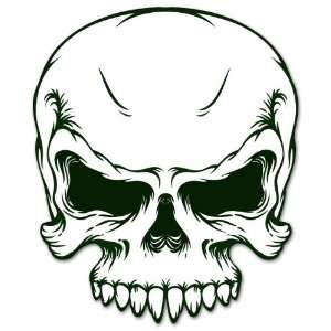 Military ARMY SKULL racing car styling sticker 4 x 5