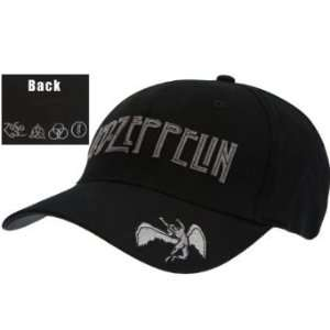 Led Zeppelin   Swan Brim Adjustable Cap [Apparel