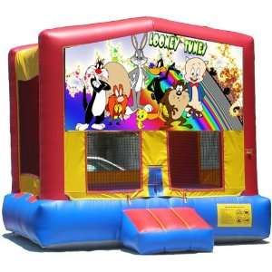 Looney Tunes Bounce House Inflatable Jumper Art Panel