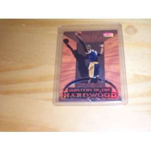 masters of the hardwood Los Angeles Lakers basketball trading card #3