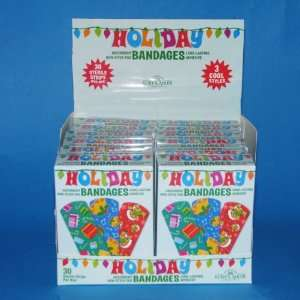 Club Pack of 360 Sterilized Christmas Design Bandages 3
