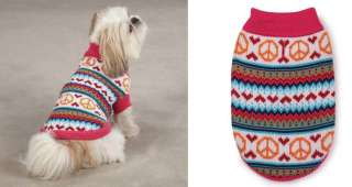 Peace Lovin Sweaters for Dogs/Dog sweaters