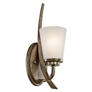 Coburn Collection 1 Light 16ö Olde Iron Wall Sconce with