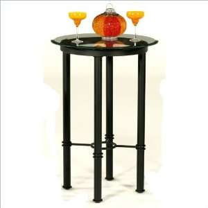 36 Round Tempo Bullseye 40 Bar Height Pub Table Furniture & Decor