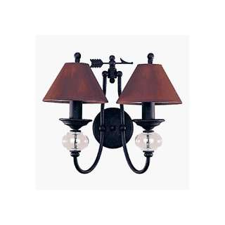 Sea Gull 4068 07 Manor House Bath / Vanity Light Weathered