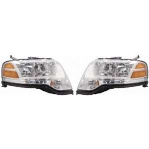 OE Replacement Ford Taurus X Driver Side Headlight Assembly Composite