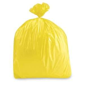 36 x 58 44 55 Gallon 1.5 Mil Yellow Trash Liners