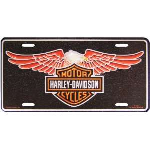 Harley Davidson Eagle Deluxe License Plate   #1841 by