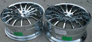GIOVANNA MARTUNI 22 CHROME RIMS WHEELS MAXIMA STAG