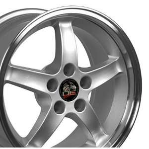 com Cobra R Deep Dish Style Wheels with Machined Lip Fits Mustang (R