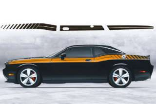 Challenger 2008 & up Side Stripe decal kit Dual+Strobe
