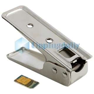 FOR IPAD 2 2ND II GEN MICRO SIM CARD CUTTER & 2 ADAPTER