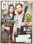 GUITAR WORLD MAGAZINE KINGS OF LEON MY CHEMICAL ROMANCE