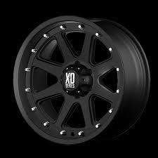 XD Addict 17x9 Matte Black Wheels 5x5 Jeep