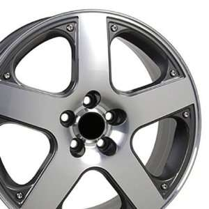 Golf Style Wheel Machined Fits VW Volkswagon   Gunmetal
