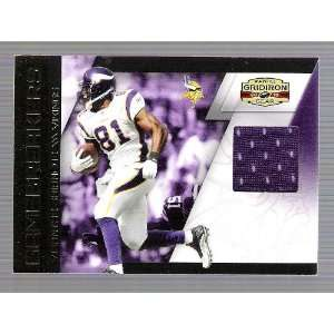 Gridiron Gear   Visanthe Shiancoe   Game Used Jersey Card