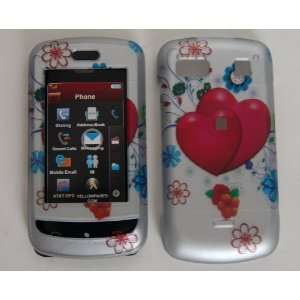 New Cartoon Art Red Heart Flower Design Lg Xenon Gr500