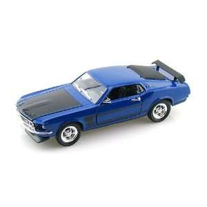 1969 Ford Mustang BOSS 302 Fastback 1/32 Blue Toys