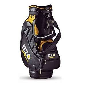 Izzo Golf Tour Bag   Black/Yellow