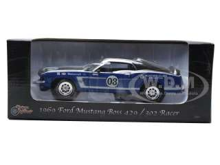 of 1969 Ford Mustang Boss 302 Racer die cast car by Unique Replicas