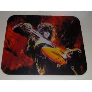 JIMMY PAGE Guitar & Bow COMPUTER MOUSE PAD