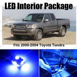 Toyota Tundra BLUE Interior LED Package (6 Pieces) Automotive