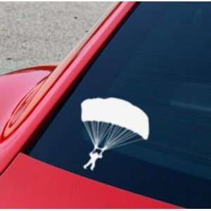 Skydive Car Decal Made of High Quality Vinyl 6 X 6 in