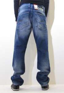 Star Jeans Attacc Straight Medium Aged System Denim Denim Blue Men