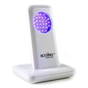 Light. 415nm Super Bright Blue LED Acne lamp pulsed at 10Htz. Beauty
