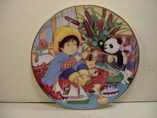 Franklin Mint Carol Lawson Coll. Plate Little Fisherman