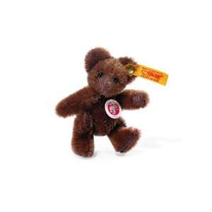 Steiff Mini Teddy Bear   Chocolate Brown Toys & Games