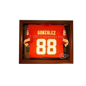 Kansas City Chiefs Football Jersey Display Case with Removable Face