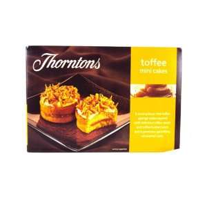 Thorntons Mini Toffee Cakes 6 Pack 150g Grocery & Gourmet Food