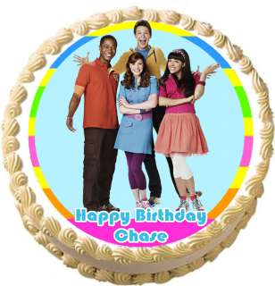 FRESH BEAT BAND NEW MARINA Round Edible Party Cake Image Topper