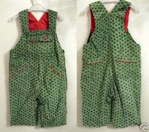NEW Beetlejuice Euro Boutique Girls Cordouroy Overalls