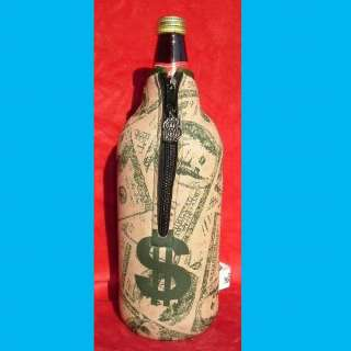 CHOICE 40 OZ. BEER BOTTLE KOOZIE COOLER~6 STYLES~OUNCE