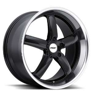 18x9.5 TSW Stowe (Gloss Black w/ Mirror Lip) Wheels/Rims
