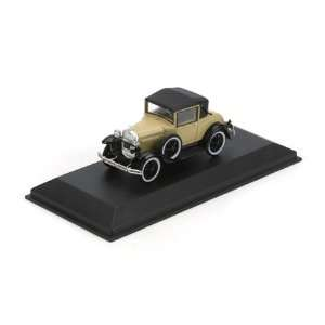1/50 Die Cast 1931 Ford Model A Coupe, Tan Toys & Games
