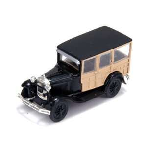 Athearn 26406 Ford Model A Woody, Black Toys & Games