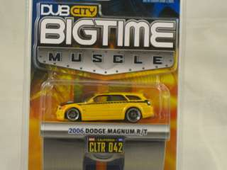 2006 Dodge Magnum R/T   1 64 scale Dub City Big Time Muscle