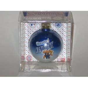 KENTUCKY WILDCATS (2 5/8 In Diameter) Multi Color CHRISTMAS ORNAMENT
