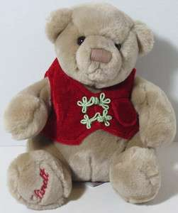Gund Exclusive LINDT SANDY BROWN TEDDY BEAR Stuffed Plush Animal 44549