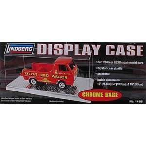 Quantity of Four 1/24 Single car Display Cases Toys