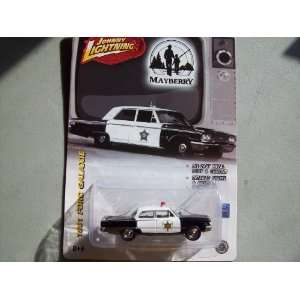 Lightning 1961 Ford Galaxie Mayberry Sheriff Patrol Car Toys & Games