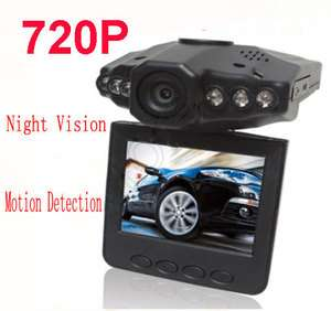 Full HD 720p Car vehicle Camera DVR Motion detection