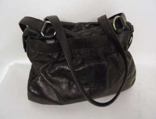FRANCESCO BIASIA BLACK SOFT LEATHER BAG HANDBAG