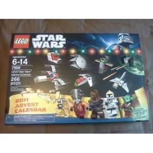 NEW 2011 LEGO STAR WARS ADVENT CALENDAR SET # 7958 Toys