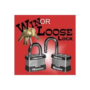 Win or Lose Lock Close Up Eays Magic Trick Street Keys